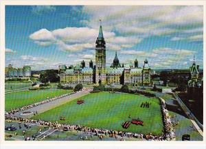 Canada The Centre Block Of The Parliament Buildings Ottawa Ontario