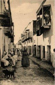 CPA AK Biskra- Rue des Ouled Nails, ALGERIE (794487)