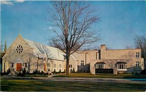 Defiance Ohio~St Paul's Lutheran Church Before the Tower Was Built 1961