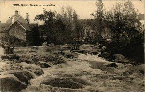 CPA Pont Aven- Les Moulins FRANCE (1026582)