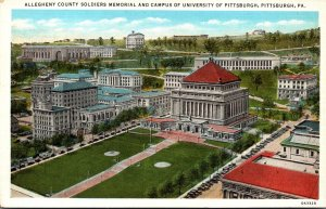 Pennsylvania Pittsburgh Allegheny County Soldiers Memorial and University Of ...