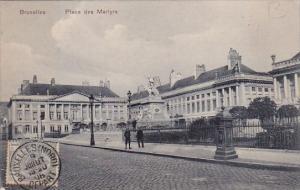 Belgium Brussels Monument Place Des Marlyrs 1920