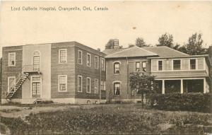 Orangeville Ontario~Lord Dufferin Hospital~Outside Stairs to Second Floor~1933