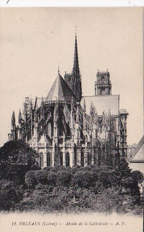 France Orleans Abside de la Cathedrale