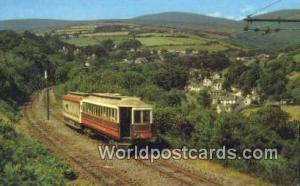 United Kingdom, UK, England, Great Britain Laxey Valley & Snaefell Isle-of-Ma...