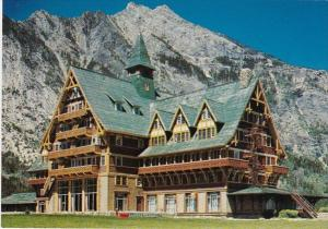 Canada Alberta Prince Of Wales Hotel Waterton National Park