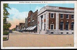 Prince Edward Island CHARLOTTETOWN Grafton Street - Pub by Valentine-Black - WB