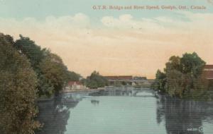 GUELPH , Ontario , Canada , 1911 ; G.T.R. Bridge