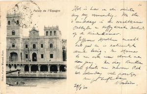 CPA PARIS EXPO 1900 - palais de l'espagne (307392)