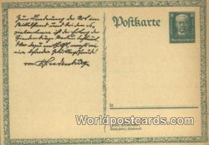Germany, Deutschland Postcard