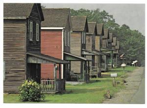 Eckley Coal Miners Village PA Street Scene Postcard 4X6
