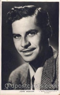 John Hodiak Actor, Actress, Movie Star, Postcard Post Card Actor Actress, Mov...