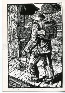 153698 Brazil Tinker by Bianshetti Old postcard