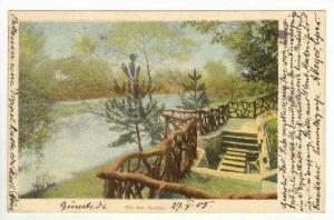 View of Walk & Lake,Scwaben Quellen,nr Stuttgart,Germany 1900-10s