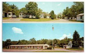 1950s/60s Pine Lodge Motel, Westerly, RI Postcard