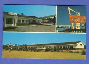 Sussex, New Brunswick, Canada Postcard, Timberland Motel