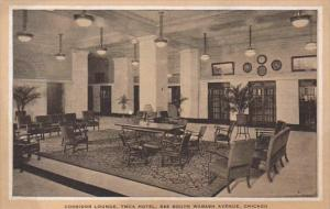 Illinois Chicago Y M C A Hotel Corridor Lounge