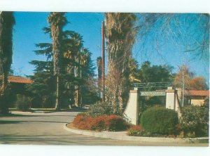 Pre-1980 GARDEN SCENE Claremont - Near San Bernardino & Los Angeles CA AF6344