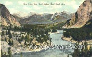 Bow Valley, Banff Springs Hotel Banff, Alta Canada Unused