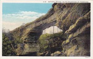 Natural Bridge In The Mountains Of Tennessee