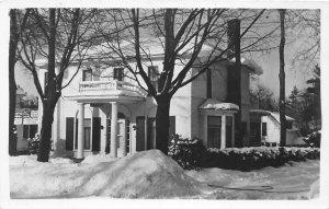 H44/ Traverse City Michigan RPPC Postcard c1950s Delong's Shore Pines 106