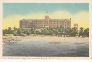 Fort Montagu Beach Hotel , Nassau , Bahamas , B.W.I. , 30-40s