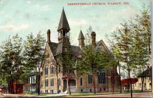 Indiana Warsaw Presbyterian Church 1909