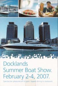 Australia Melbourne Docklands Summer Boat Show 2007