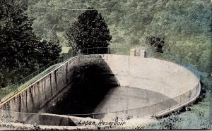 West Virginia Logan The Reservoir 1909