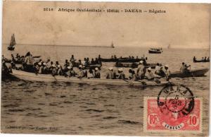 CPA Senegal Fortier 2146. Afrique Occidentale-Sénégal-Dakar-Régates (235227)