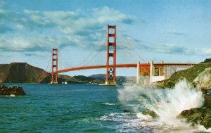 10610 Golden Gate Bridge, San Francisco, California 1956