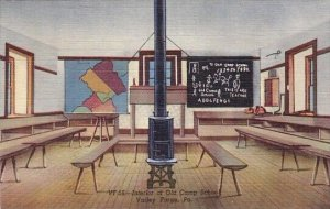 Interior Of Old Camp School Valley Forge Pennsylvania