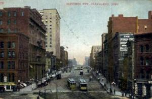 Superior St. Cleveland OH 1910