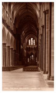 Salisbury Cathedral , Nave   RPC Judges LTD  no. 5364