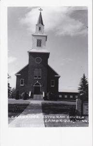 RP:  CAMBRIDGE , Minnesota , 1930s ; Lutheran Church