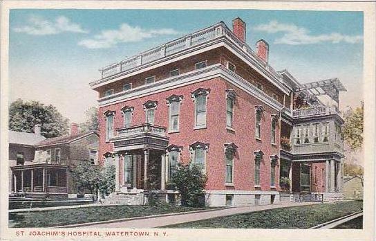 New York Watertown Saint Joachims Hospital