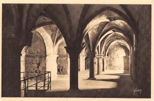 Vintage France Postcard, Le Mont - St Michel Abbey, The Promenade 12th cent 77C
