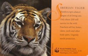 Siberian Tiger World Wildlife Fund 1998