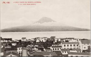 Vista Da Horta Acores Azores Portugal No. 2 Unused Postcard E41