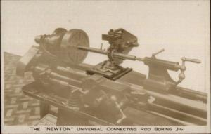 Machinery - The Newton Universal Connecting Rod Boring Jig Real Photo Postcard