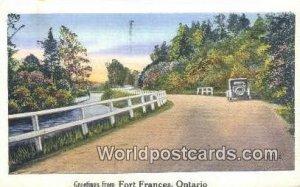 Fort Frances Ontario Canada 1941