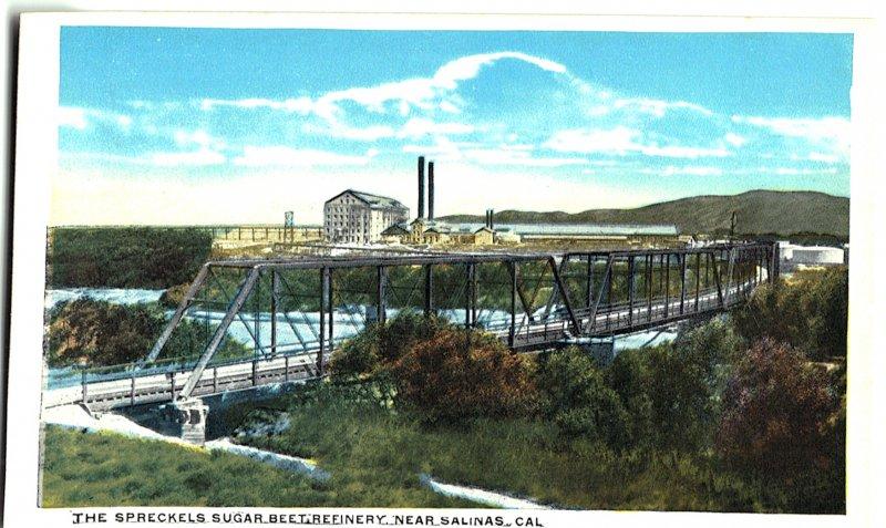 The Spreckels Sugar Beet Refinery Near Salinas, Cal.