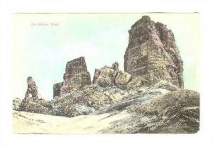 Le cinque Torri, Cortina, Italy , PU-1911