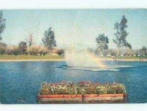 Pre-1980 NATIONAL ORANGE SHOW LAGOON San Bernardino California CA AD5724