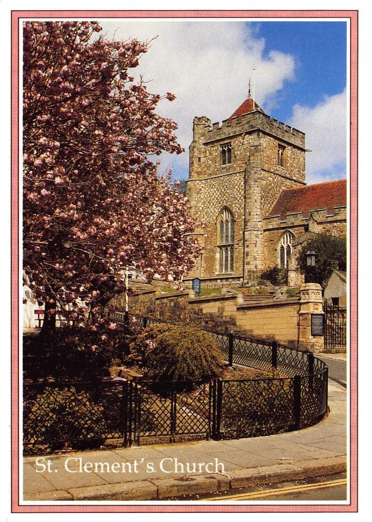 Postcard St Clements Church Hastings East Sussex By Judges Ltd Hippostcard