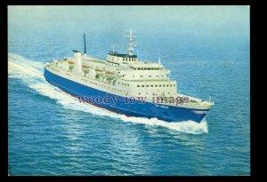 FE3521a - Tor Line Ferry - Tor Anglia , built 1966 - postcard
