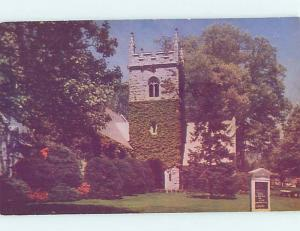 Unused Pre-1980 CHURCH SCENE Washington DC hs6700