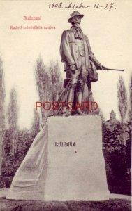 BUDAPEST - RUDOLF TRONOROKOS SZOBRA