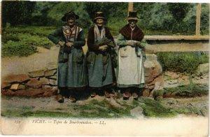 CPA VICHY - Types de Bourbonnaises (225247)