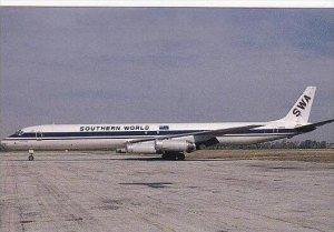 SOUTHERN WORLD McDONNELL DOUGLAS DC-8-63F